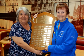 J Delbaere Memorial Trophy presentation
